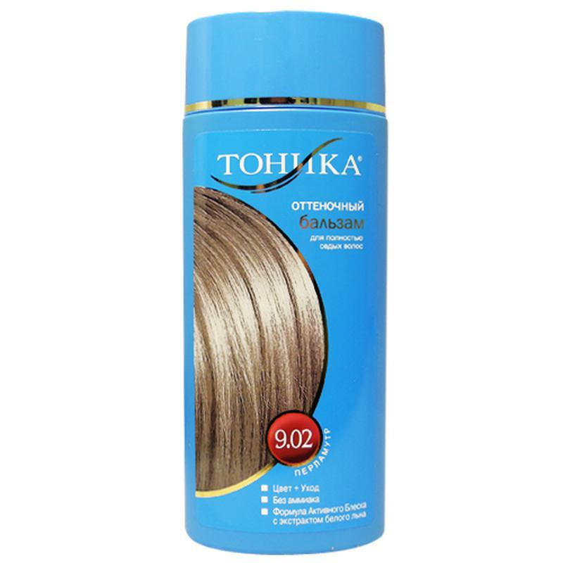 Оттеночный бальзам тоника для седых волос