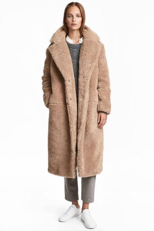 kid huge inventory best sale Плюшевое пальто шуба teddy coat h&m (H&M) за 3000 грн.