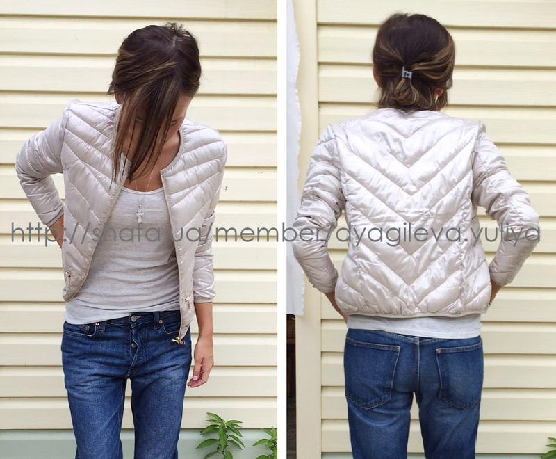 1aed72299dab Куртка - бомбер жемчужного цвета от amisu (AMISU) за 850 грн.