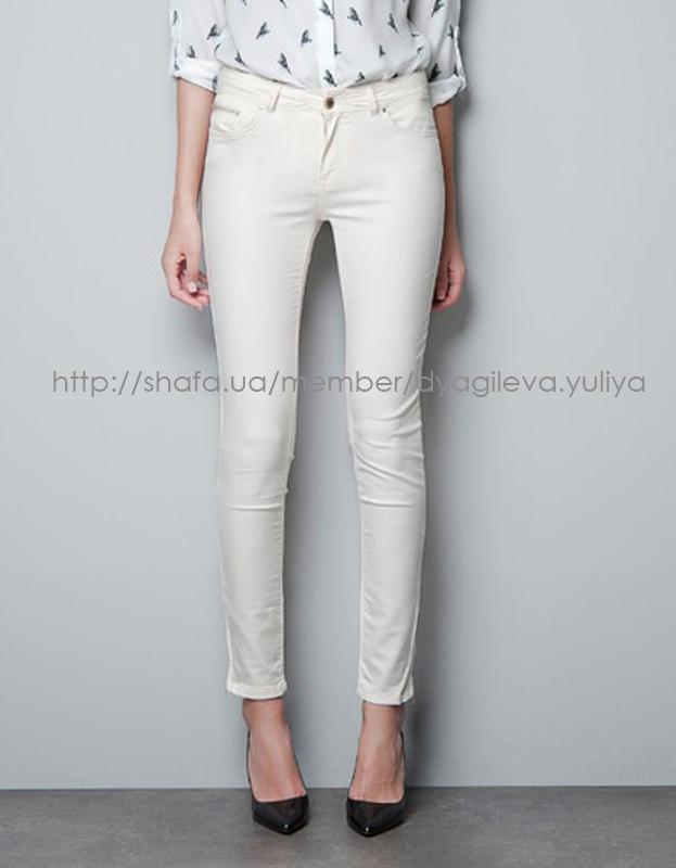 5ed805eb623 Стильные белые джинсы zara1 фото ...
