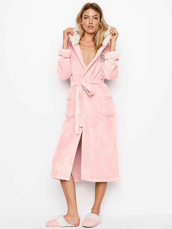 Тёплый плюшевый халат виктория сикрет Victoria s Secret 69f8f25426b86
