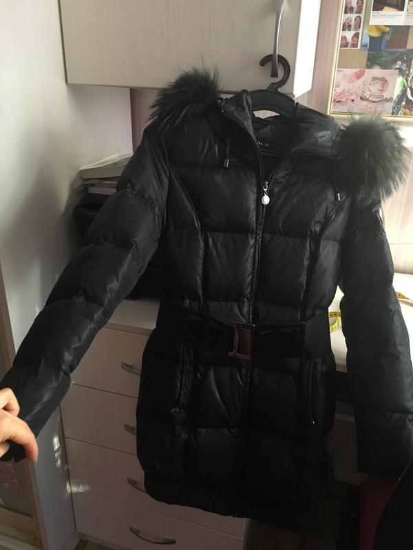 9948c2800540 Чёрный зимний курточка, пальто пуховик savage с мехом Savage, цена ...