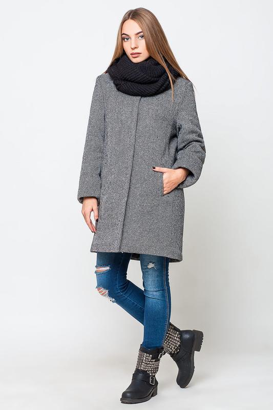Купить пальто прямого кроя