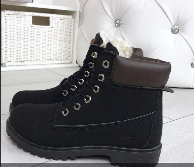 Теплые зимние ботинки timber, мех! р36-41, цена - 395 грн,  9145620 ... e9eb56511f0