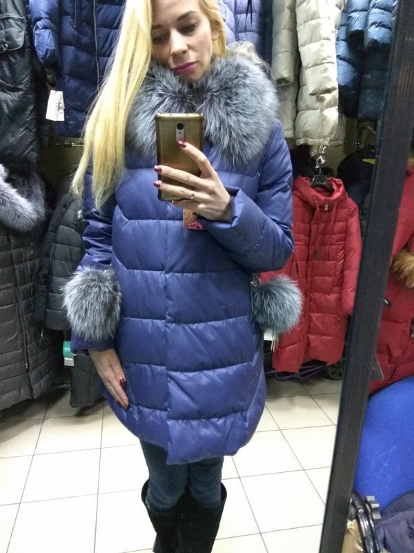 Акция! зимняя женская куртка пуховик chanevia 81701по супер цене xl1 ... 290fcc10cba