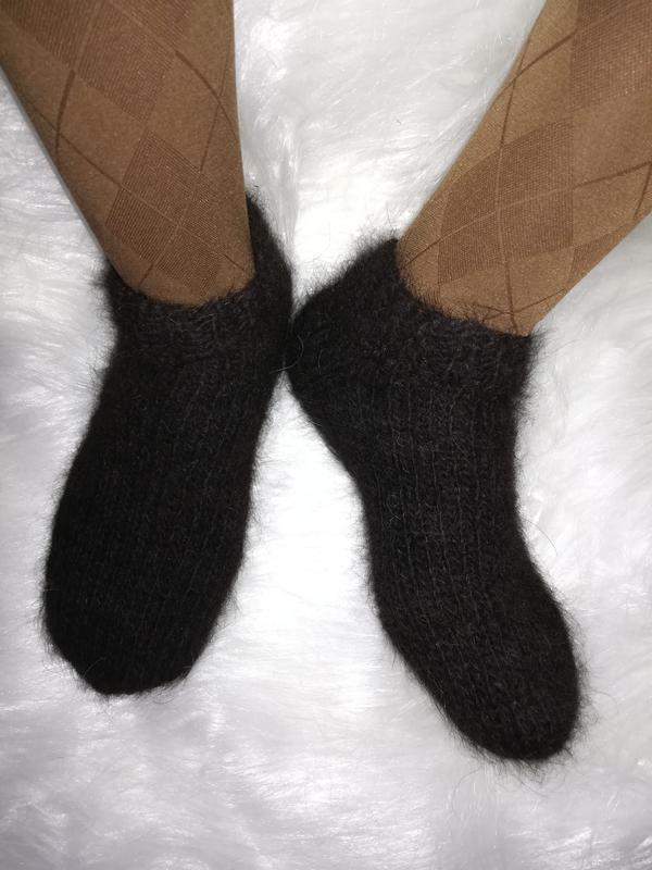 5bff06d79ff3e Укороченные носки из собачьей шерсти 37р натуральные теплые эко шерстяные  носочки1