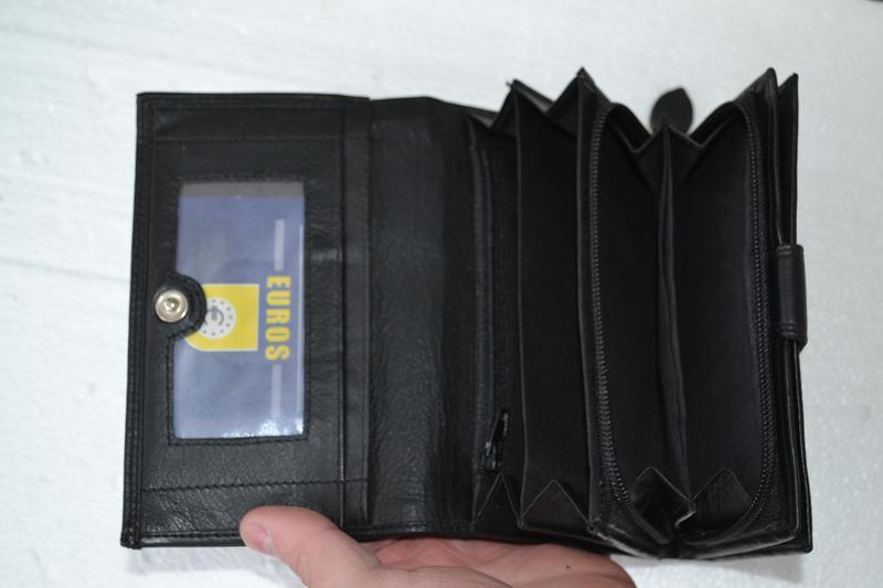 2d1c46f3cddc Женский кожаный кошелек money maker цвет черный новый, цена - 640 ...