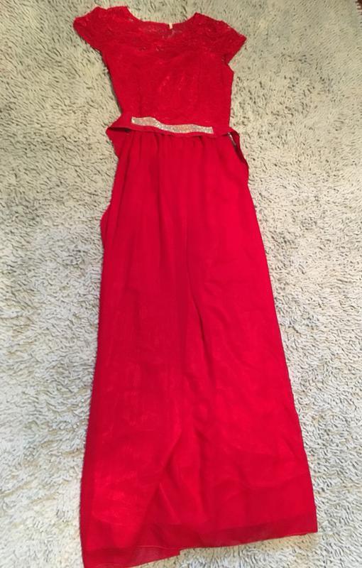 Довге червоне плаття красное платье в пол1 ... 9cafb09253826