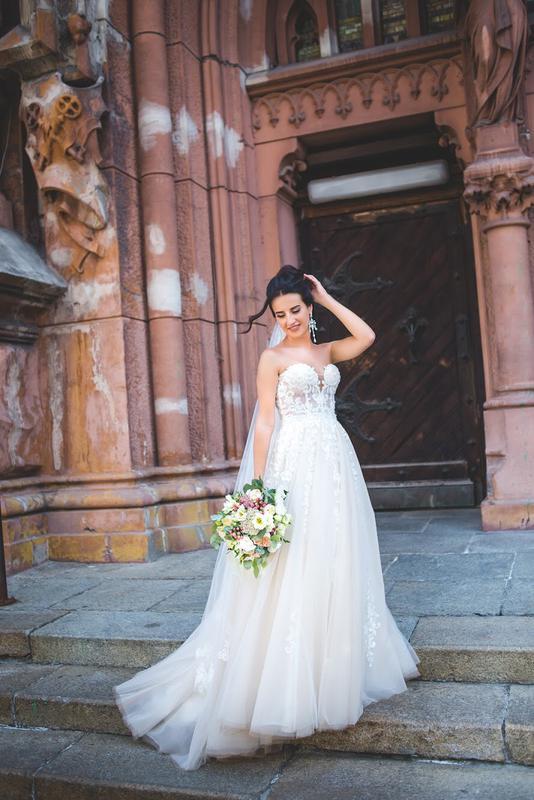 b46f859df19 Шикарное свадебное платье!!!!!1 ...