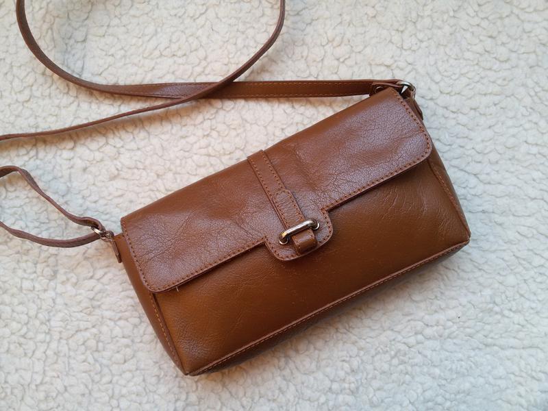 7070b809b3bf Кожаная сумка кросс боди 5th avenue 5th Avenue, цена - 295 грн ...