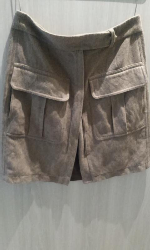89c1d330bdb Стильная шерстяная юбка от gabriele strehle( strenesse blue)