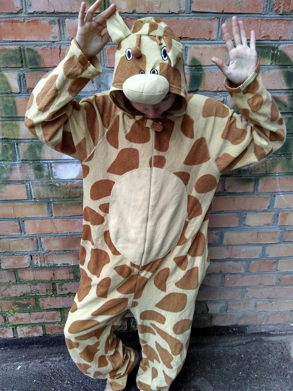 Пижама кигуруми жирафа cedarwood state   размер m Cedarwood State ... 82142c5748270