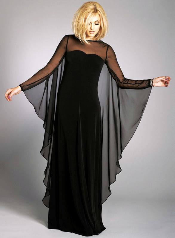 картинки концертные накидки на платье этому варианту