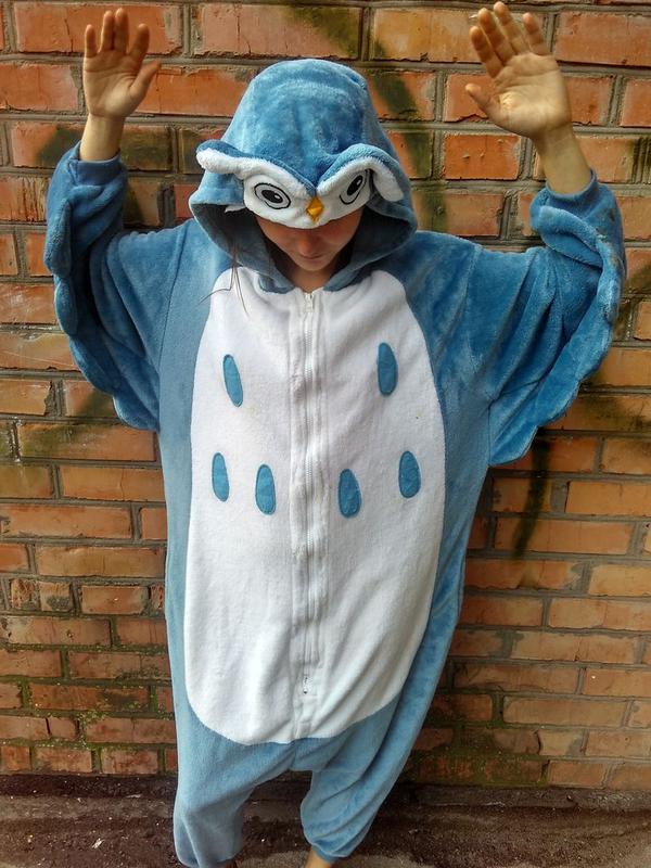Пижама кигуруми сова   размер m1 ... 87ed8970ea7d3