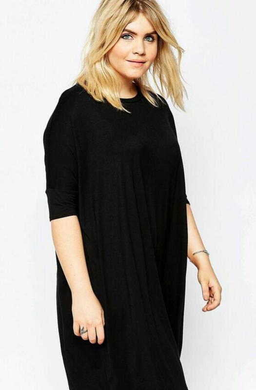 a012286bd158266 Трикотажное платье большого размера 56-58-60. ASOS, цена - 220 грн ...