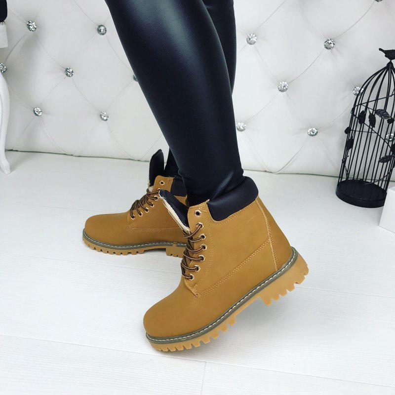 e4d8b017bf87 Ботинки зимние timber рыжие, цена - 399 грн,  9342112, купить по ...