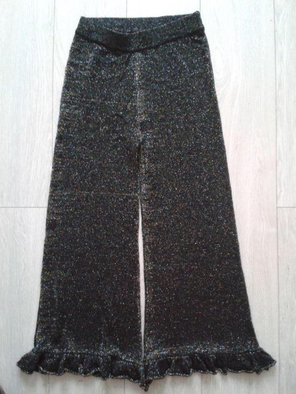 7aa5646be2a1 Штаны с люрексом последний модный тренд зара ZARA, цена - 300 грн ...