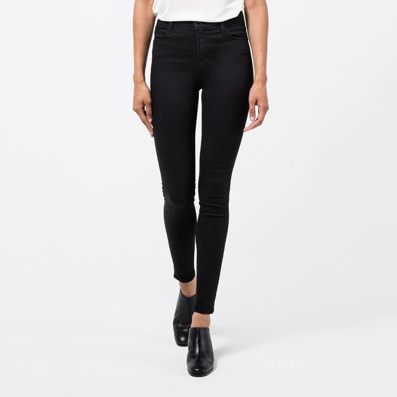45de8df039f Черные джинсы высокая посадка