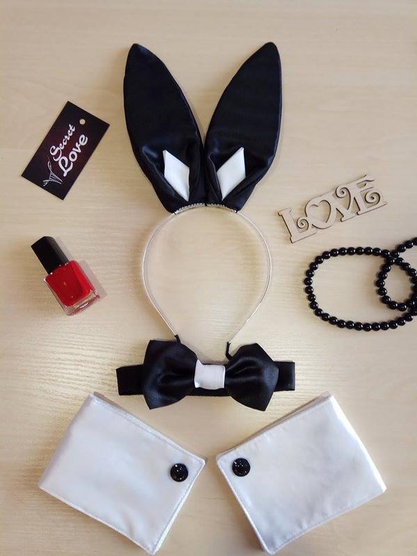 Костюм кролика playboy для тематических вечеринок bd8e3c671d4c1
