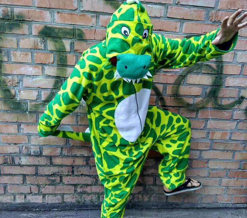 Пижама кигуруми динозавр тирекс1 e2bdb6e5a6684