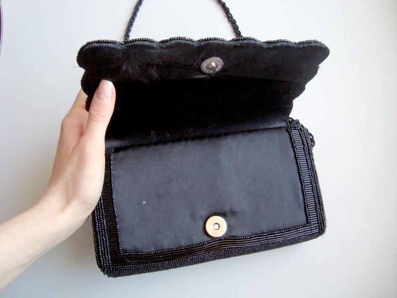 91d4e5e9ca14 Клатч чёрный, расшитый бисером (новый), цена - 300 грн, #9488827 ...