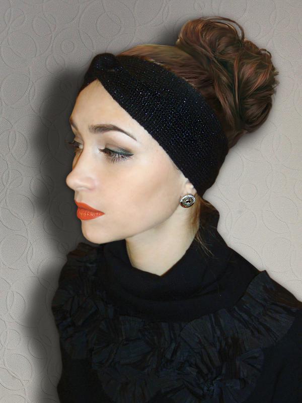 вязаная повязка на голову чалма цена 300 грн 9491866 купить