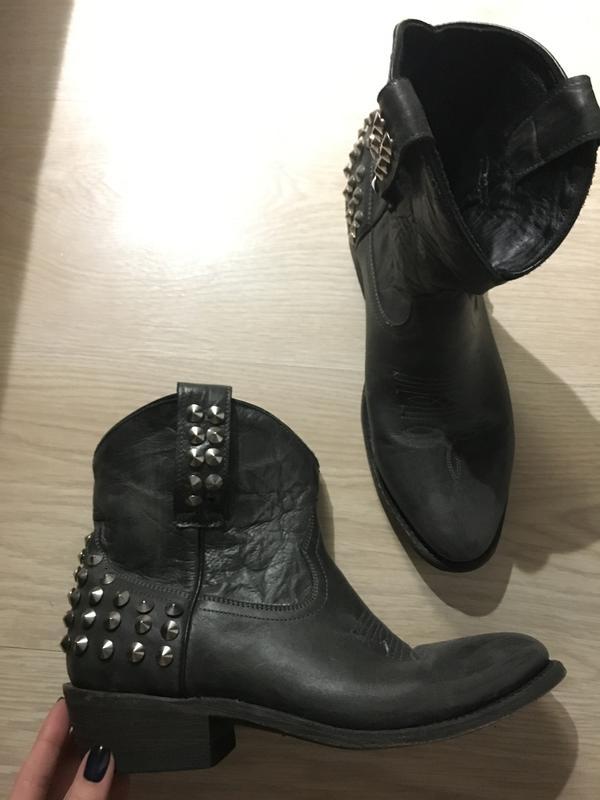 0d554945 Ковбойские ботинки казаки ash кожа новые! Ash, цена - 2500 грн ...