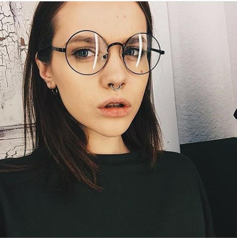 0572d941b0a Новые круглые очки для имиджа, черные за 150 грн. | Шафа