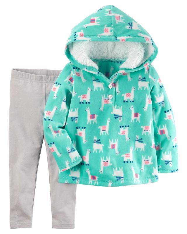 1b803f05156 Утепленный костюм carters для девочек Carter s