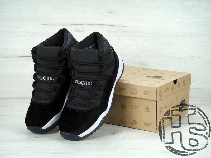 20381a03 ... Женские кроссовки air jordan 11 xi retro gg black velvet/white/gold  852625- ...