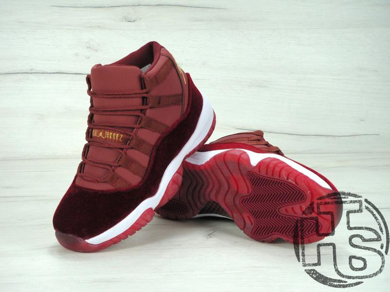 new product 2bc5f dd97b Женские кроссовки air jordan 11 xi retro gg heiress velvet night maroon  852625-650 (Nike) за 1299 грн.