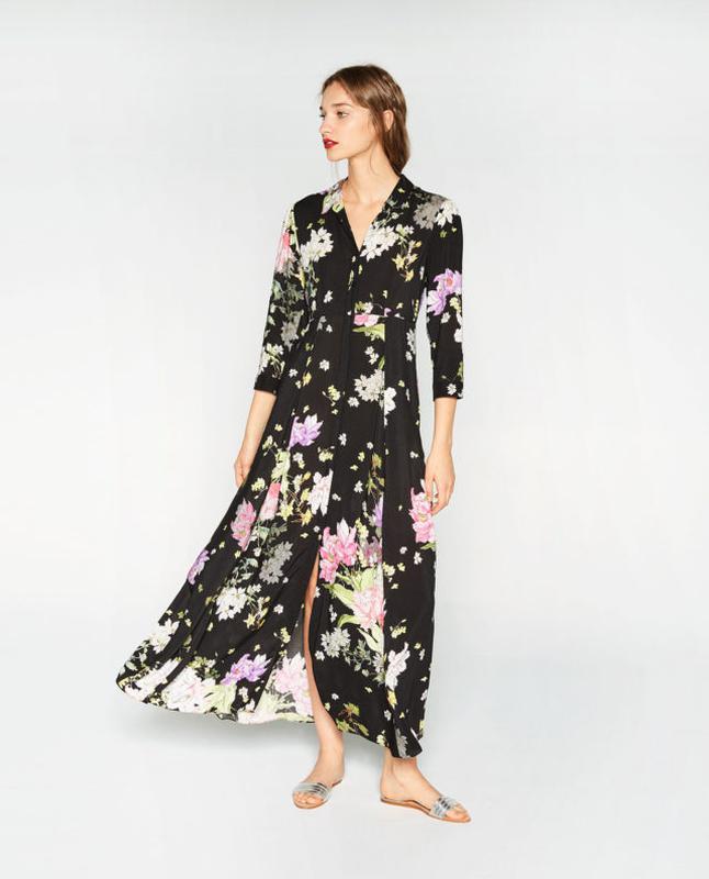 02e76609e60 Красивенное платье сарафан макси zara