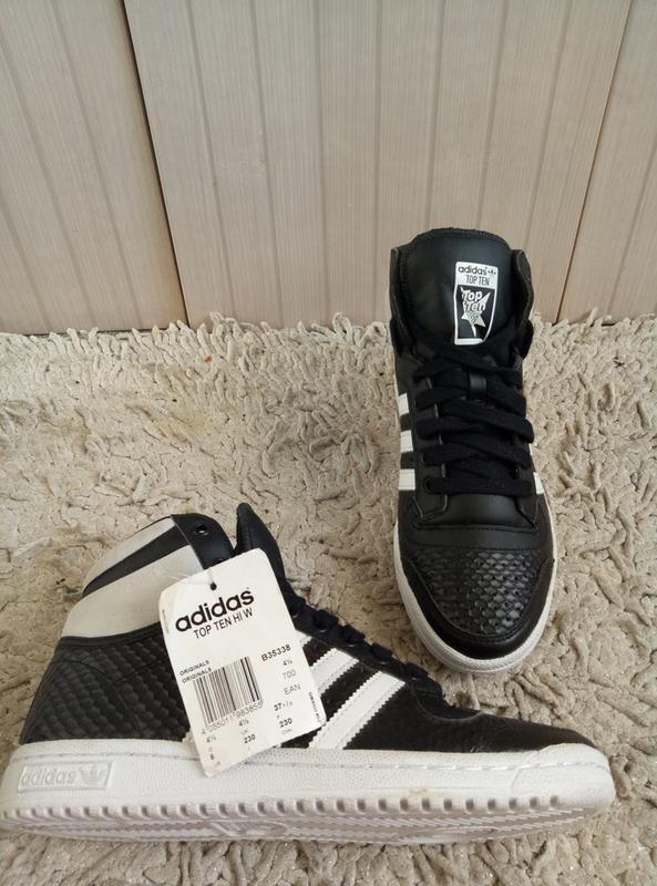 Новые высокие кроссовки adidas original 9554638c3024e