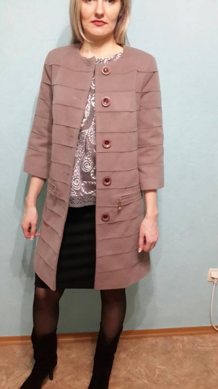 b1e25ec56d72 Очень стильное пальто в стиле шанель размер 42-44 X-Woyz, цена - 450 ...