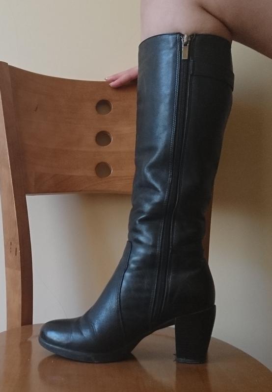 0b9f123ae2b6 Зимние кожаные сапоги на каблуке р. 37 (Hand Made) за 260 грн. | Шафа