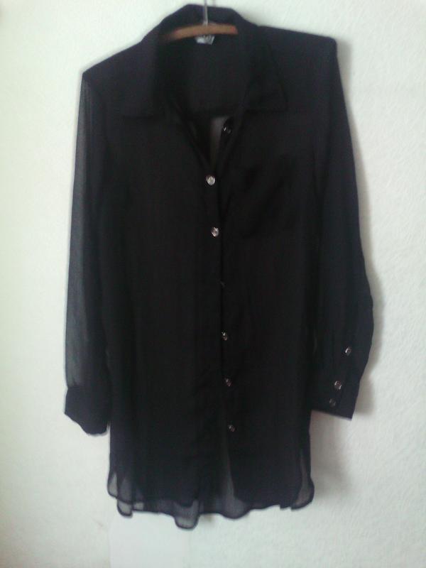 a81ae455171 ... Длинная шифоновая рубашка3 фото ...