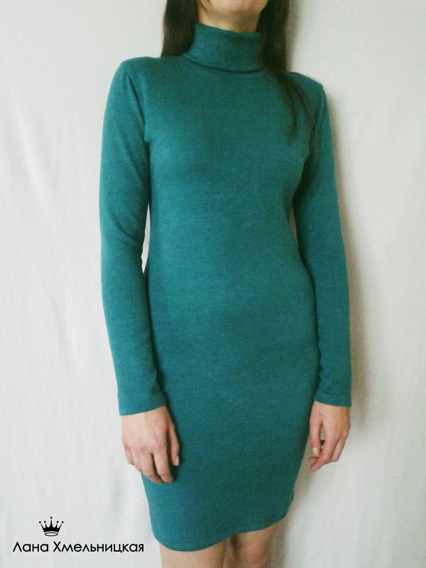Зеленое платье-гольф (трикотаж-ангора), цена - 322 грн,  1179627 ... 1bb271267d1