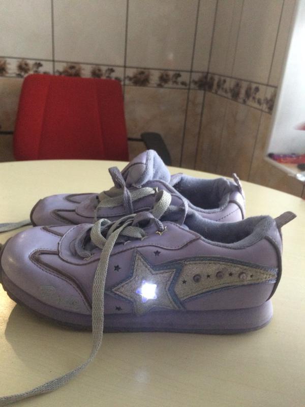Світящі кросівки для дівчинки 32 розмір1 ... 01fbf2c370e09