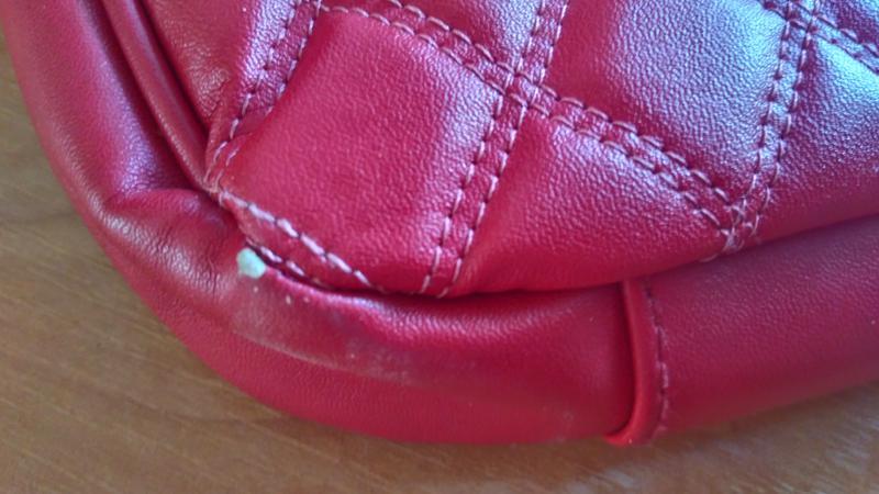 2e14eda00481 Классическая стеганая сумка клатч oriflame красная Oriflame, цена ...