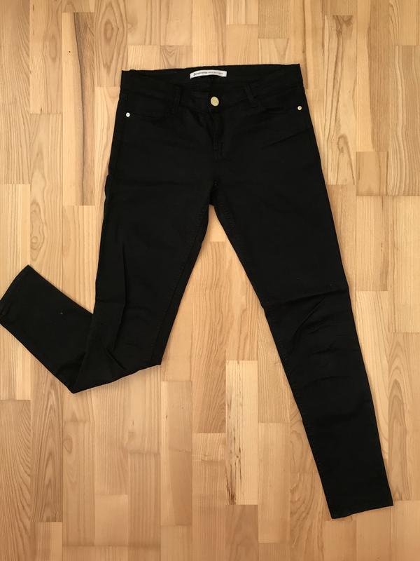 2e3400c3848 Черные джинсы stradivarius с высокой талией Stradivarius