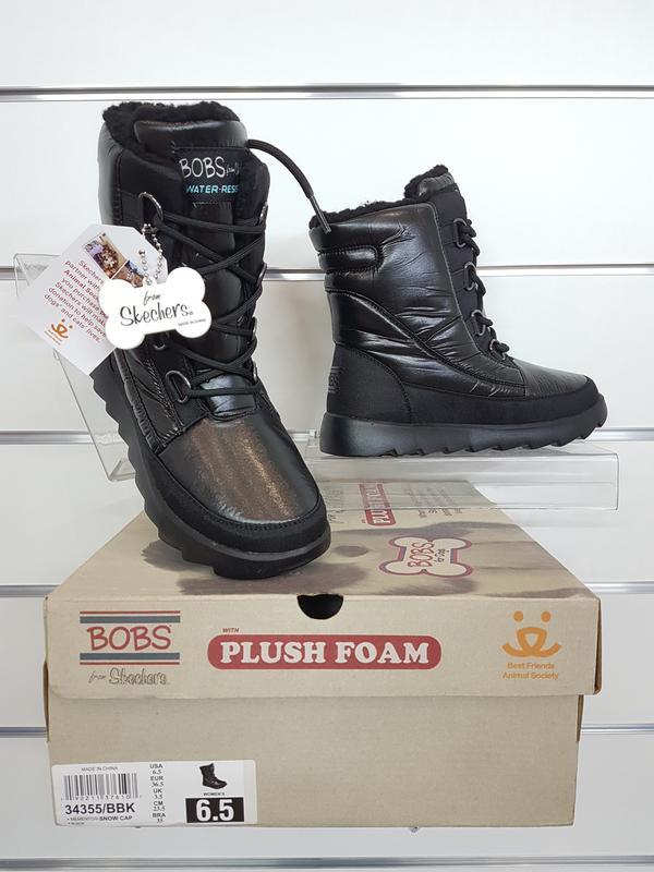 822e9083b34 Skechers bobs women s mementos snow cap cozy winter boot Skechers ...