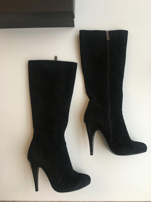 Чорні замшеві чоботи1 ... 253b8f1f4707a