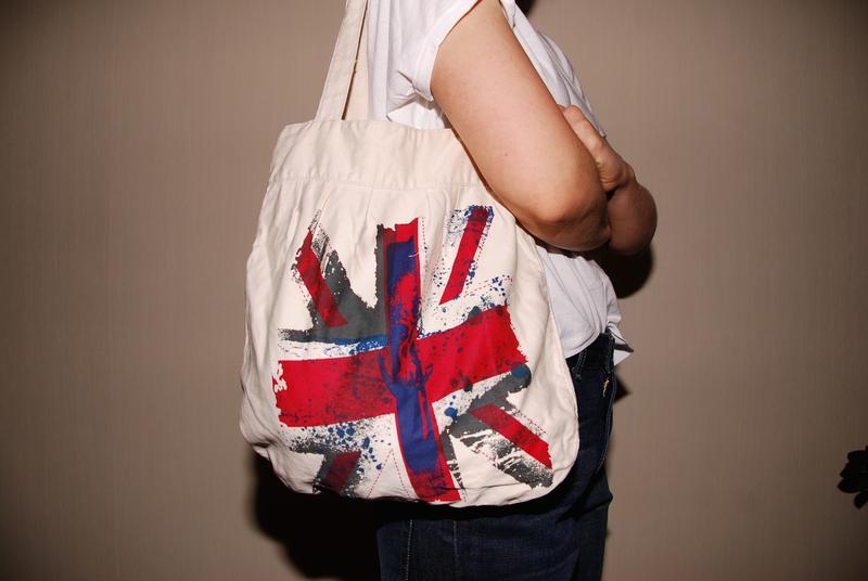 b2e4b78698bd Сумка тряпичная с британским флагом, #9815985, купить по доступной ...