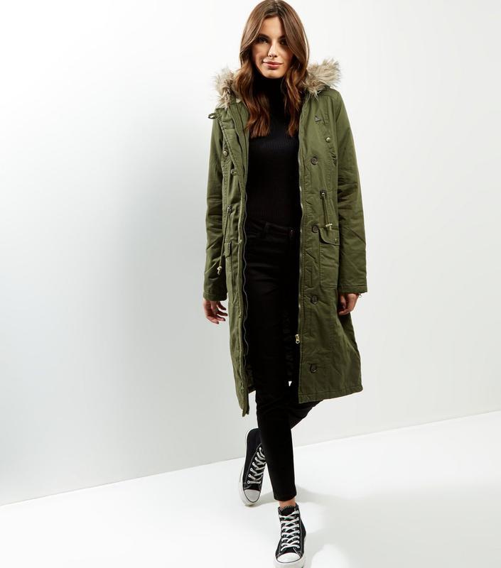 0f86c02dee8 Miss silfridge парка удлиненная теплая xs синтепон весна пальто капюшон  хаки зеленая1 ...