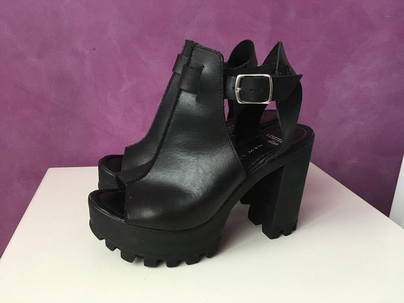 Босоножки туфли на тракторной подошве New Look, цена - 499 грн ... a06c589bd62