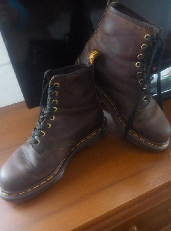 Оригинальные ботинки dr.martens 1460 crazy horse Dr. Martens 72b3bf93984cb