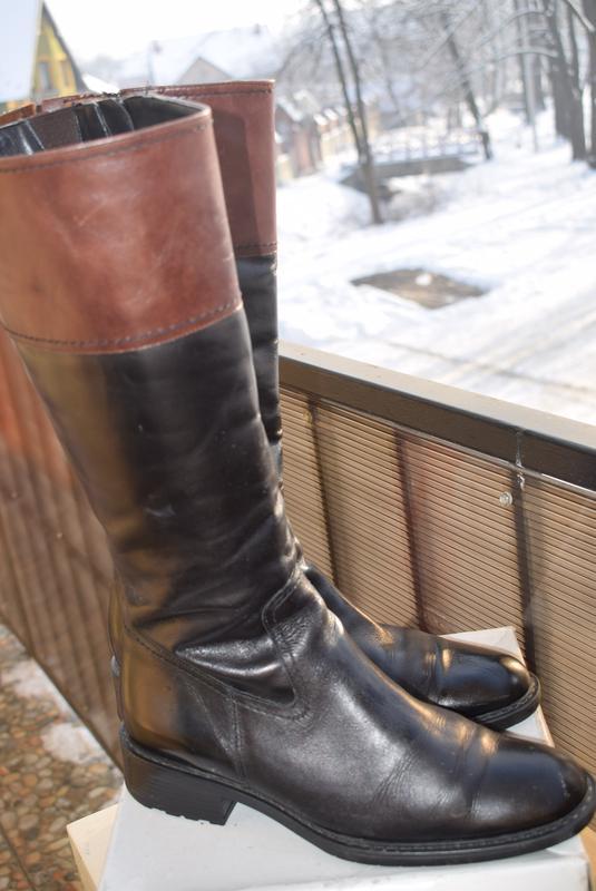 32643009a Итальянские сапоги кожа зимние еврозима р.41 стелька 28 см fabiani идеал  р.401 ...