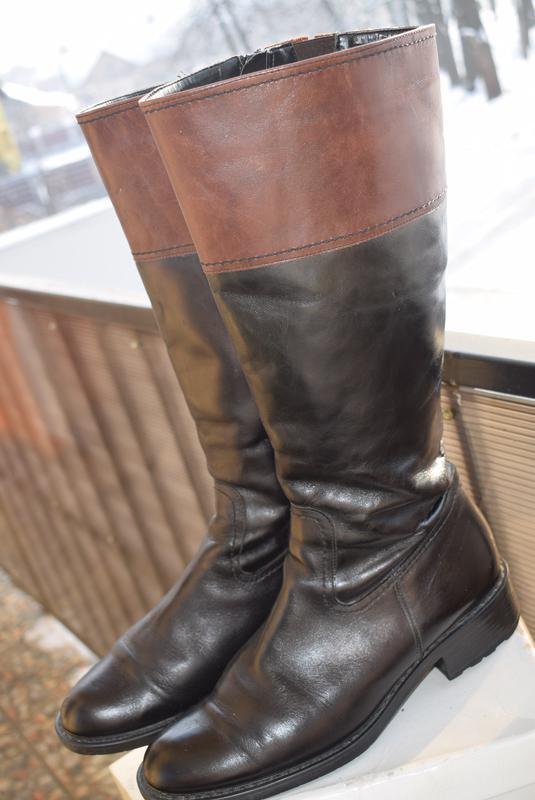 cb4cfcdb9 ... Итальянские сапоги кожа зимние еврозима р.41 стелька 28 см fabiani  идеал р.402 ...