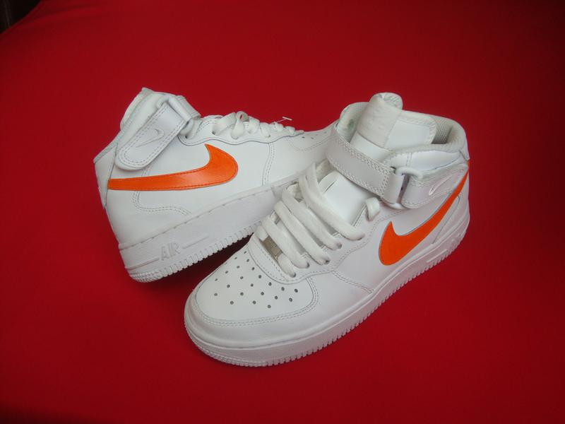 e778000f Кроссовки nike air force нат кожа оригинал 35-36 размер Nike, цена ...