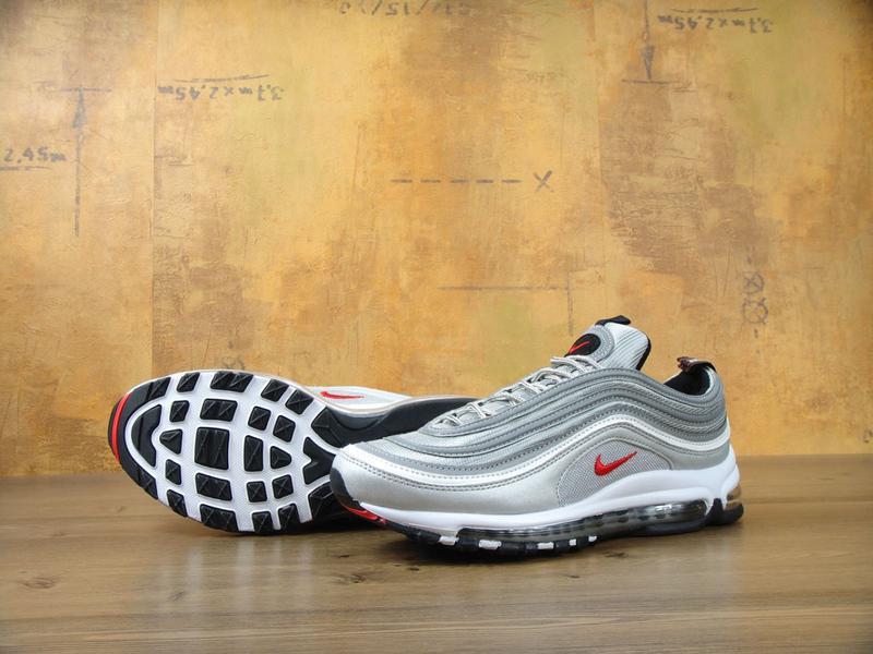 6f98c6d6f9c1 Шикарные кроссовки nike air max 97 серебристого цвета 36 37 38 39 41 42 рр1  ...